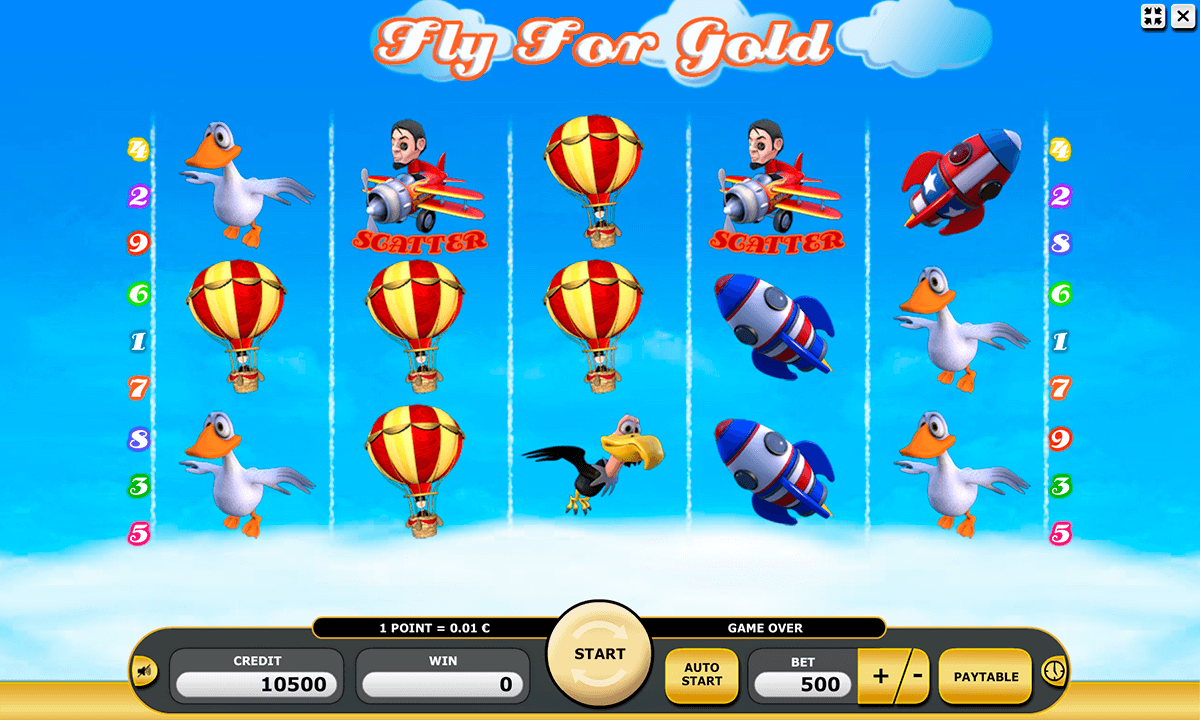 fly for gold kajot automaty zdarma