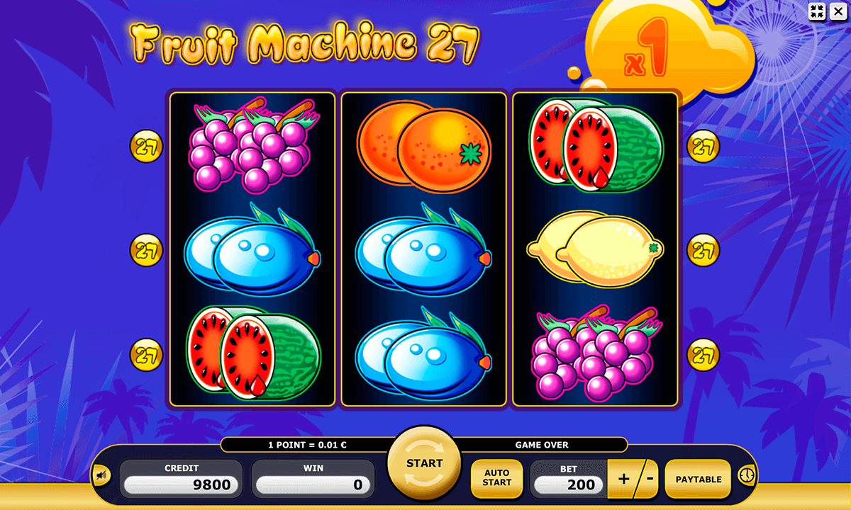 fruit machine 27 kajot automaty zdarma