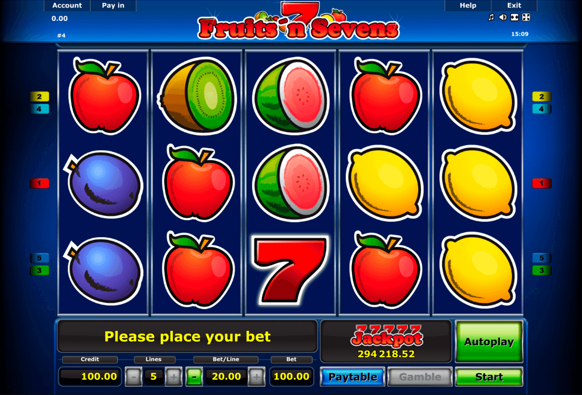 Spiele Sevens And Fruits - Video Slots Online