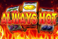 logo always hot novomatic hry automaty