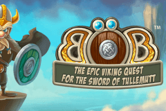 logo bob the epic viking quest netent hry automaty