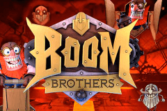 logo boom brothers netent hry automaty