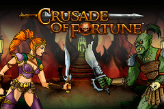 logo crusade of fortune netent hry automaty