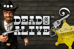 logo dead or alive netent hry automaty