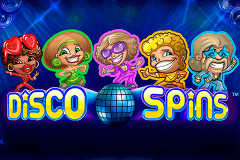 logo disco spins netent hry automaty