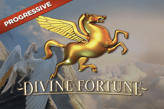 logo divine fortune netent hry automaty