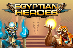 logo egyptian heroes netent hry automaty