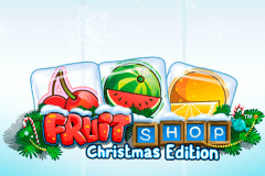 logo fruit shop christmas edition netent hry automaty