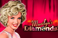 logo marilyns diamonds novomatic hry automaty
