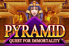 logo pyramid quest for immortality netent hry automaty