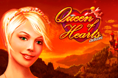 logo queen of hearts deluxe novomatic hry automaty
