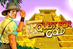 logo quest for gold novomatic hry automaty