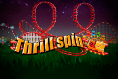 logo thrill spin netent hry automaty
