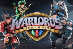 logo warlords crystals of power netent hry automaty